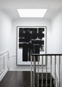 black painting border frame